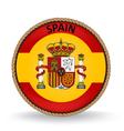Spain Seal vector image