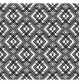 abstract seamless geometric black and white vector image