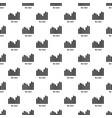 bar chart pattern seamless vector image vector image