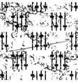 Faders pattern grunge monochrome vector image vector image