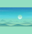 game background with desert style collection vector image vector image