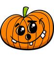 jack halloween pumpkin cartoon vector image vector image