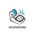 logo accounting vector image