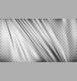realistic light transparent folded polyethylene vector image vector image