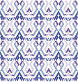 Tribal multicolored pattern vector image vector image