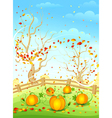 country autumn vector image