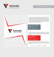 company brochure with creative design also with vector image