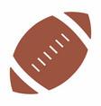 football ball icon vector image