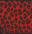 leopard pattern decorative background vector image vector image