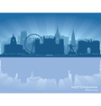 Nottingham England skyline vector image vector image