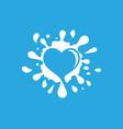 splash icon design vector image vector image