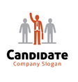 Candidate Design vector image