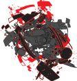 car explosion vector image vector image