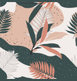 creative universal floral background in tropical s vector image