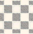geometric seamless pattern with squares stripes vector image vector image