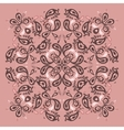 Lace background Mandala vector image vector image