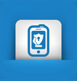 smartphone protection vector image vector image