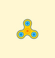 spinner icon flat element of vector image