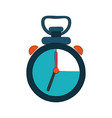 sport chronometer symbol vector image vector image
