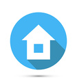 Flat Style Home Icon vector image