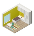 Children room vector image