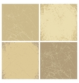 Collection of vintage backgrounds vector image vector image