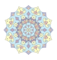 Flloral mandala white background vector image vector image