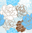 Floral and decorative pattern vector image vector image