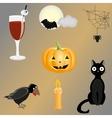 Halloween clipart vector image