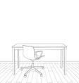 interior office design vector image
