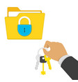 privacy security concept vector image