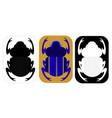 scarab vector image