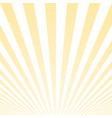sunny striped background vector image vector image