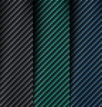The texture of carbon fiber vector image vector image