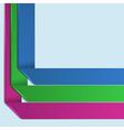 Background Number Options Banner vector image