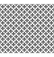 Fleur de lis black and white seamless pattern vector image