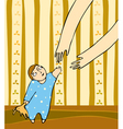 Child Mother Arms vector image vector image