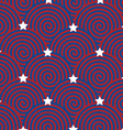 Colorful background in the US national flag colors vector image