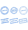 Download stamps vector image vector image