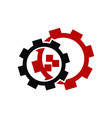 gear logo design template vector image