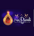 Happy diwali traditional indian festival