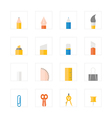 Icon Stationery vector image vector image