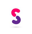 Letter S logo icon design template elements vector image vector image