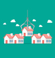 real estate buyer choice vector image