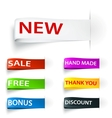 Tag sticker label vector | Price: 1 Credit (USD $1)