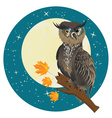 Wise Owl4 vector image vector image