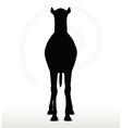 camel in default pose vector image vector image