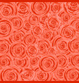 flower background background of many roses vector image vector image