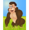 king kong cartoon vector image vector image
