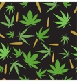Marijuana seamless pattern vector image vector image